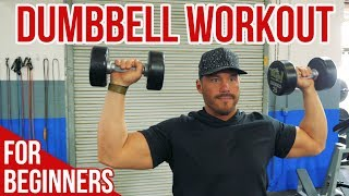 Dumbbell Workout for Beginners 13 Essential Exercises for Total Body Training
