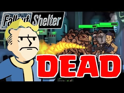 MY WHOLE VAULT GETS DESTROYED! – Fallout Shelter – Fallout Shelter Lunch Box Opening