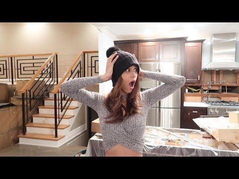 YANET REACTS TO OUR NEW HOUSE!!