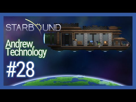 Starbound 1.0.5 #28 Hoverbike, Hire Crew Members, Sparrow Ship Upgrade - 1440p 60FPS