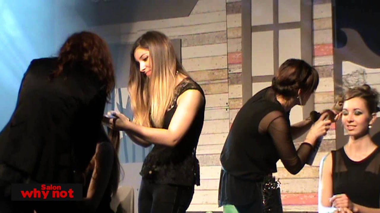 Salon Why Not Voiron Show Coiffure Novembre 2013 Youtube