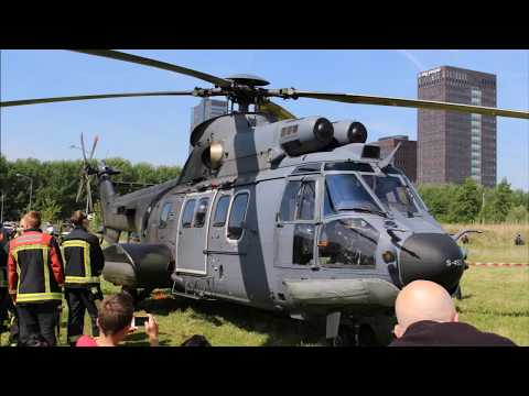 S 453 Aerospatiale AS532 U2 Cougar  | Landing / Opstijgen | Centrum Almere
