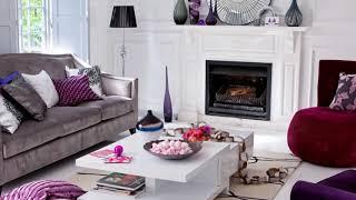 50 Purple Living Room Ideas