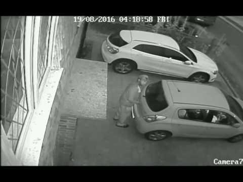Horley Car thief Aug 2016