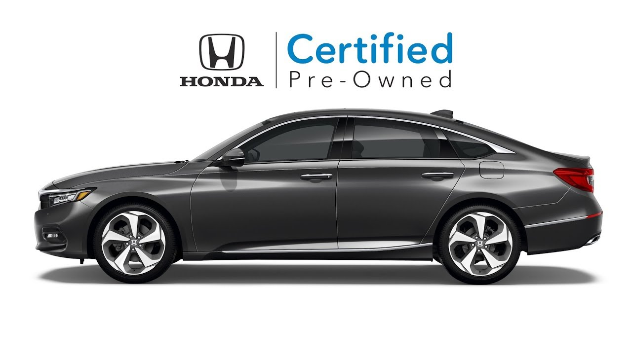 Certified Pre Owned Honda >> Why Consider A Honda Certified Pre Owned Vehicle