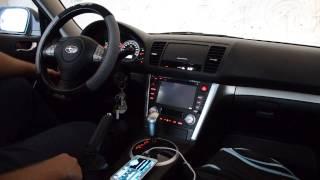 Subaru Legacy 09 Caska Multimedia System Demo