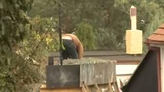 Reportáž RTA o opravě opěrné zdi na Brčkově