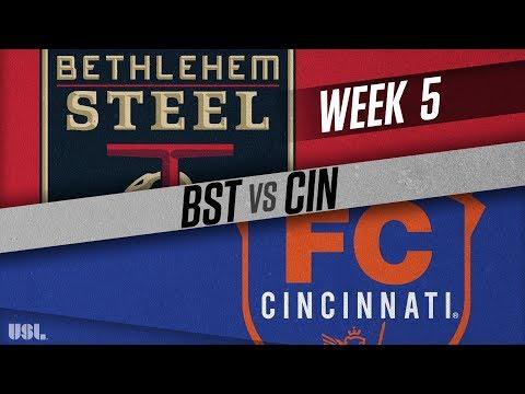 Bethlehem Steel FC vs FC Cincinnati: April 15, 2018