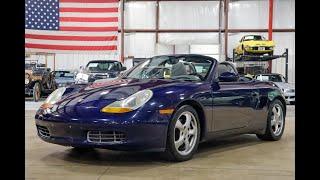 2002 Porsche Boxster Test Drive
