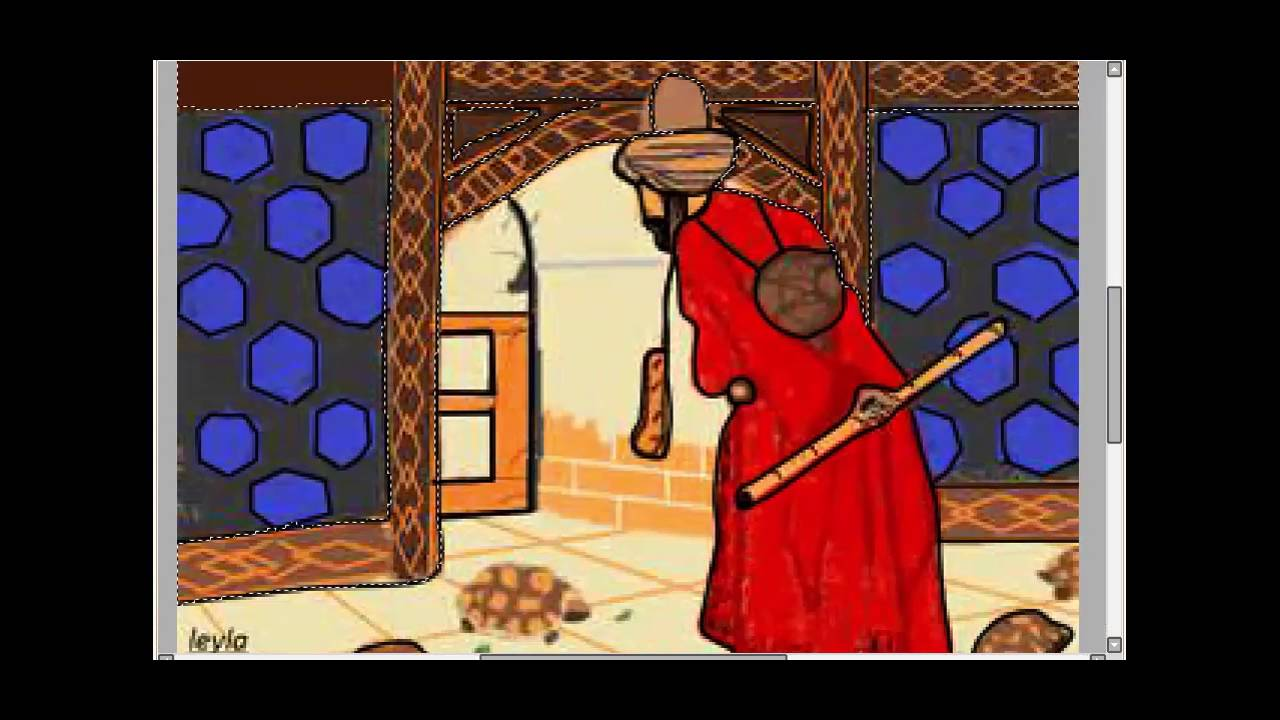 Kaplumbaga Terbiyecisi Tablolar Mozaic Sanati
