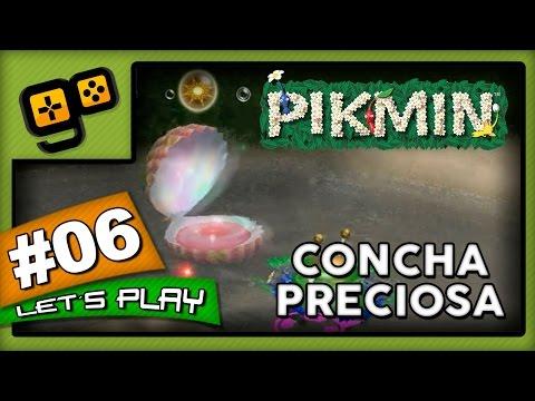 Let's Play: Pikmin - Parte 6 - Concha Preciosa
