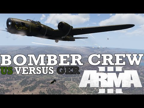 Bombing Dresden with the Lads | TvT ArmA 3 Bomber Crew - A Fustercluck in WW2