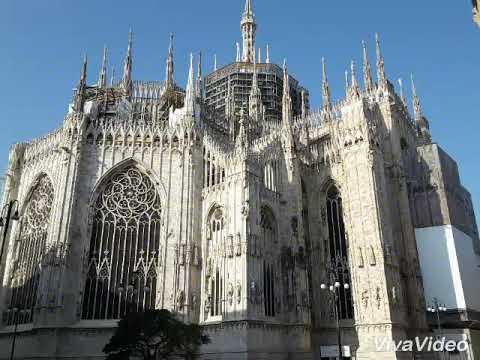 Esterno Del Duomo Di Milano E Le Sue Terrazze Youtube