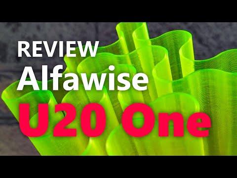 Recensione stampante 3D Alfawise U20 One, un'occasione persa
