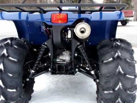 YAMAHA 450 GRIZZLY - YouTube
