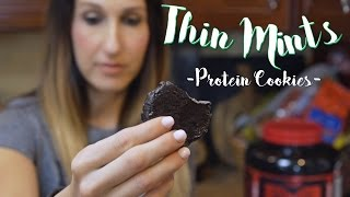 Protein Thin Mint Cookies