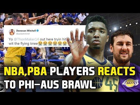 NBA, PBA players at iba pang sports personalities nag react sa nangyari sa laban ng Gilas