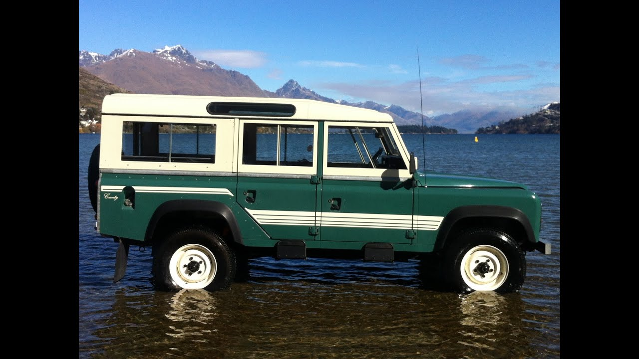 1985 Land Rover 110 County Station Wagon for sale