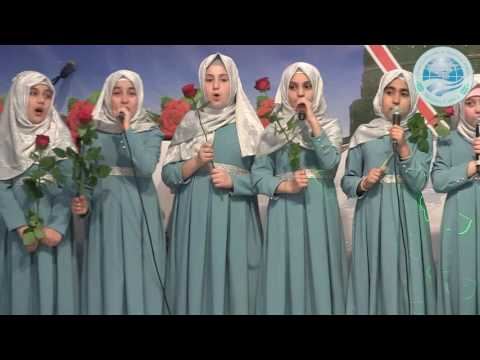 2017 Paris Kutlu Doğum etkinliği- Medine Cami Kız İlahi gurubu