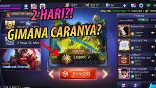 TRIK NAIKIN RANK KE LEGEND DALAM 2 HARI! - Mobile Legends Indonesia #27