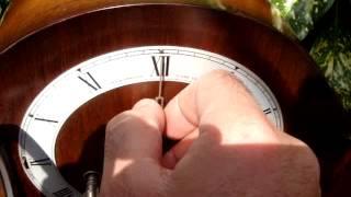 Vintage Old  Antique Smith Westminster Strike  Mantel  / Mantle Clock See Video