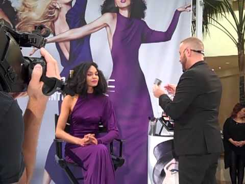 Pat Cleveland for MAC's Antonio Lopez Fall 2013 Collection, honoring her friend and his achievements