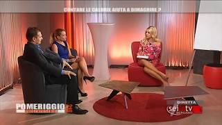 Dott.ssa Silvia Colizzi a Pomeriggio 216_Intervento con il nutrizionista Davide Spoldi