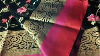 Beautiful Designs Of Babarasi Saree Collection||Different Designs & Differnt Colors Of Saree||
