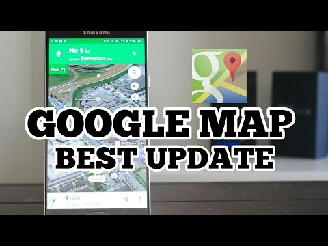 Android October Best apps #8 : YES! Google Map Best Updated!