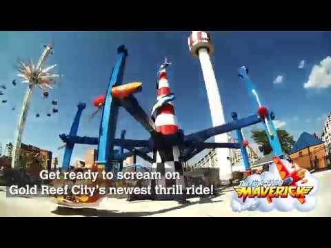 Gold Reef City  The High Flying Maverick