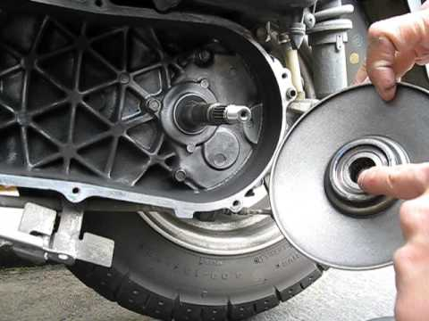 NHX110 clutch pully bearing bad