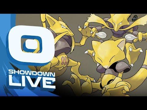 """ABRA KADABRA WITH GATOR"" Pokemon Sun & Moon! OU Showdown Live w/PokeaimMD & Gator!"