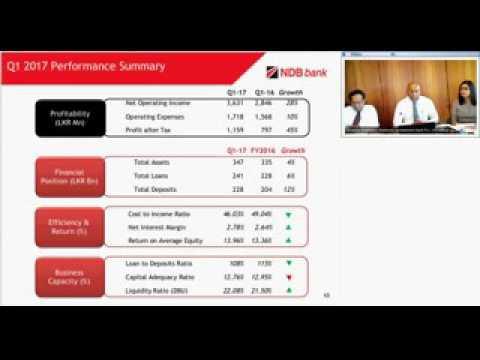 NDB Investor Webinar -  Q1 2017