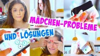 MÄDCHEN-PROBLEME & LÖSUNGEN  Pickel Periode Haare und mehr   BarbieLovesLipsticks