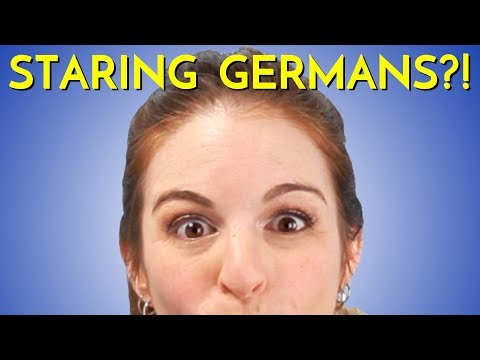 Staring Germans?! Do Germans STARE AT YOU on the Street?