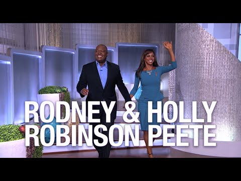 "Friday on 'The Real"" — Holly Robinson Peete & Rodney Peete!"