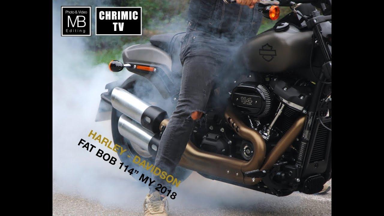 """Harley-Davidson Fat Bob 114"""" My 2018 - YouTube"""