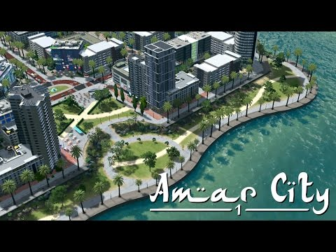 Cities Skylines: Amar City (Part 1) - Planned Desert City