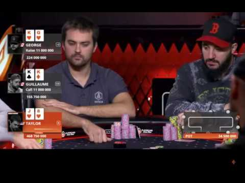 Playground Poker Club -  Sick Hand from the MILLIONS Main Event Final Table