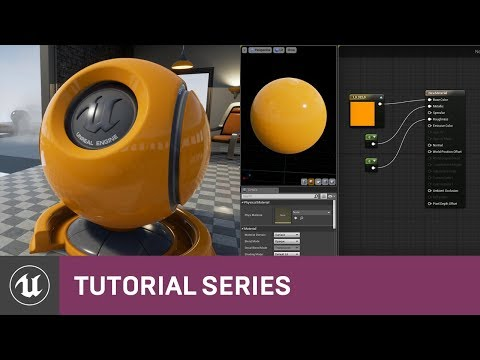 Intro to Materials: Creating a Basic Material | 02 | v4.0 Tutorial Series | Unreal Engine