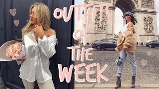 OUTFITS OF THE WEEK! | PARIS! | Sophia and Cinzia