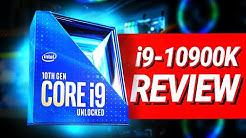 Intel Core i9-10900K im TEST - BESTE Gaming CPU?!