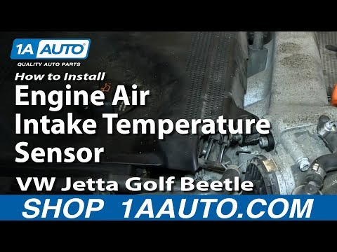 How To Replace Engine Air Intake Temperature Sensor 1.8T VW Jetta