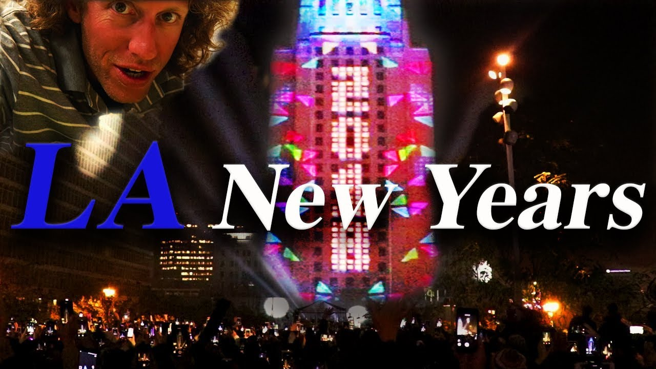 New Year's Eve Countdown - Los Angeles, CA - YouTube