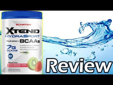 Scivation: Xtend Hydrasport BCAA Review