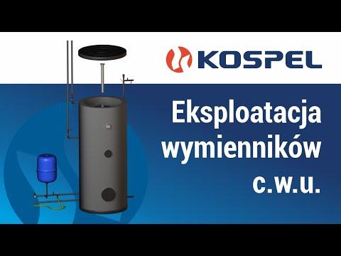 Eksploatacja wymienników c.w.u. firmy Kospel S.A.