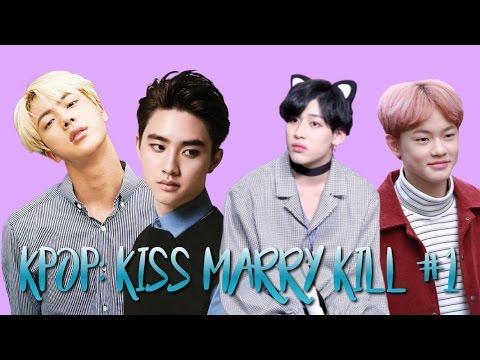 KISS MARRY KILL #1 | KPOP MALE IDOLS EDITION