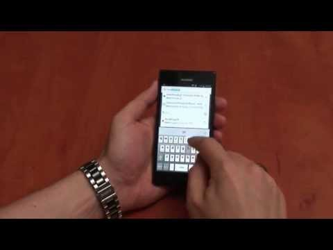 Huawei Ascend P2 - interface