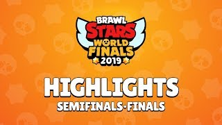 Brawl Stars World Finals 2019 - Semi-Finals and Finals Highlights