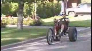 Gladiator Chopper Trike - Atomic Zombie  Extreme Machines -